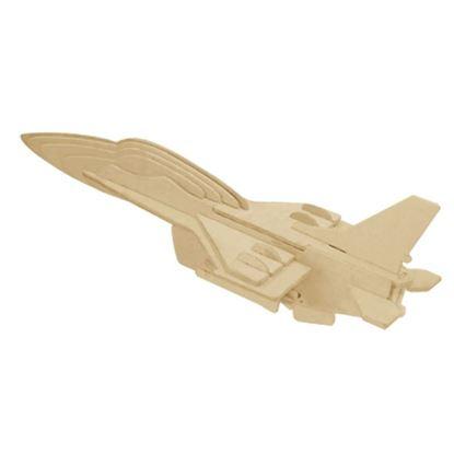Obrázek 3D puzzle - F-16 - bojové letadlo