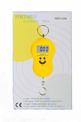 Obrázek Digitální závěsná váha - žlutá