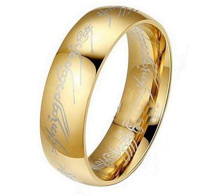 Obrázek Prsten z filmu Pán prstenů velikost 8