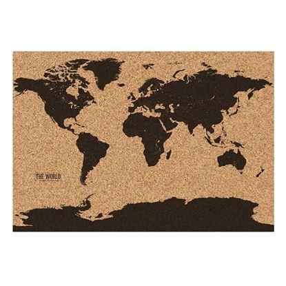 Obrázek Korková mapa světa