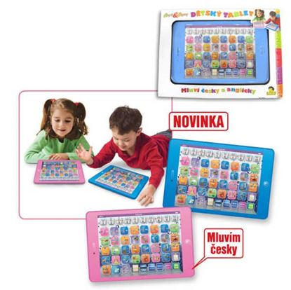 Obrázek Dětský tablet česko-anglický