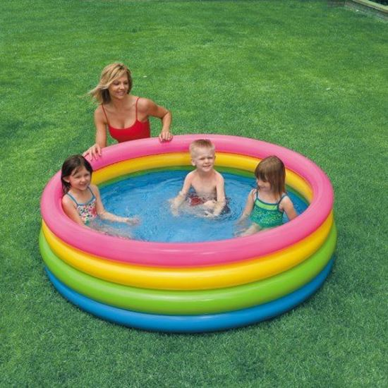 Obrázek z Dětský nafukovací bazén - 4 komorový