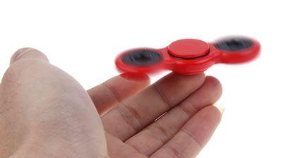 Obrázek Fidget spinner - červený