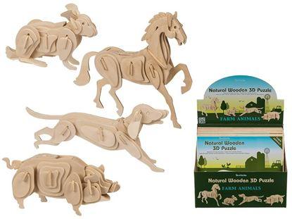 Obrázek 3D puzzle - nosorožec