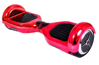 "Obrázek Hoverboard DELUXE 6,5"" (pink metal) - značková baterie"