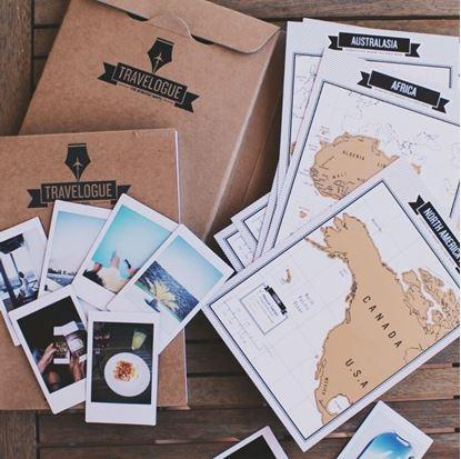 Obrázek Cestovní deník se stíracími mapami