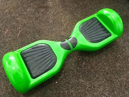 "Obrázek Hoverboard DELUXE 6,5"" (green metal) - značková baterie"
