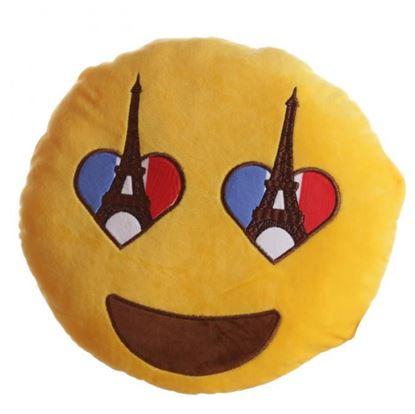 Obrázek Plyšový polštář - I love Paris