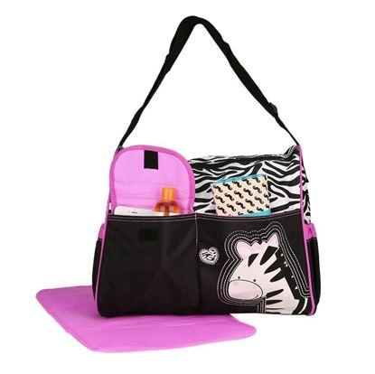 Obrázek Taška pro maminky - růžová zebra