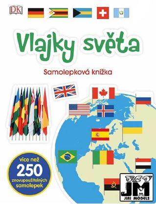 Obrázek Samolepková knížka - Vlajky světa