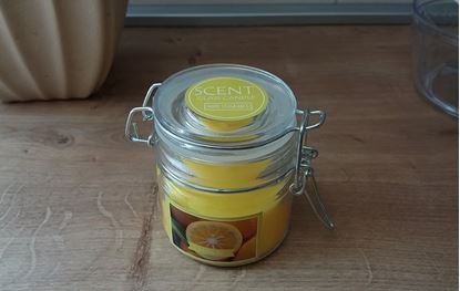 Obrázek Vonná svíčka - citrón
