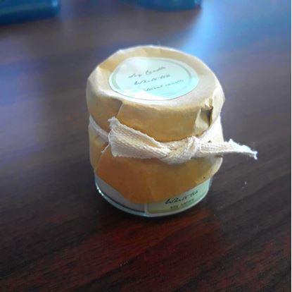 Obrázek Svíčka z přírodního vosku - bílý čaj