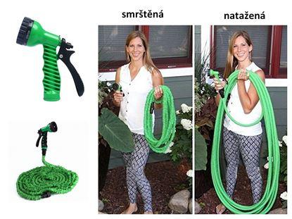 Obrázek Zahradní flexi hadice 30 M - zelená