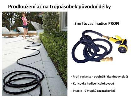 Obrázek z Smršťovací zahradní hadice Profi 30 m